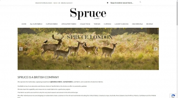 Upholstery Fabric & Curtain Fabric Spruce London