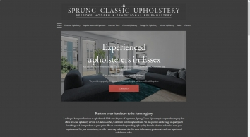Experienced upholsterers | Sprung Classic Upholstery