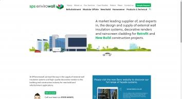 External Wall Insulation Supplier| SPS Envirowall