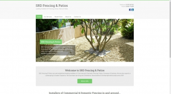 SRD Fencing & Patios – Leading Installers Of Fencing, Drives, Patios & Walls Oxfordshire, Warwickshire & Northamptonshire