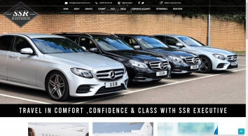 SSR Executive | Trusted Chauffeur Hire