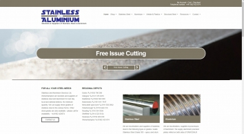 Stainless Steel and Aluminium Services, Stockists & Suppliers