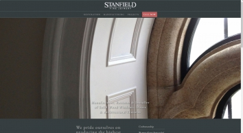 Holding Page - Stanfield Fine Joinery Ltd