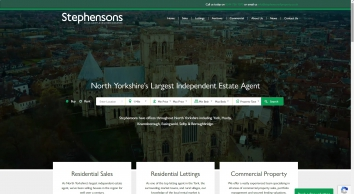 Stephensons Estate Agents - Home