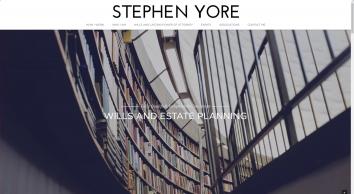 Stephen Yore Independent Wills & Estate Planning