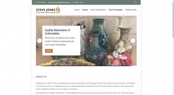 Steve Jones Pottery Restoration | Thankfully all is not lost, WE WILL REPAIR IT