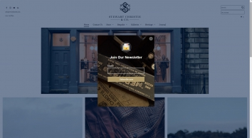 Stewart Christie & Co - Bespoke Specialist Tailors, Edinburgh Scotland