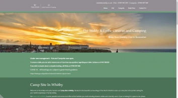 The Stiddy Public House Accommodation Lythe Whitby North Yorkshire Camping