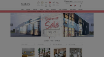 Stokers Fine Furniture | Buy Sofas, Beds and Dining Furniture