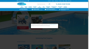 Cascade Pools Store - Swimming Pool Supplies