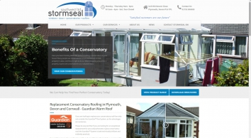 Stormseal SW Plymouth - Suppliers and installers of Conservatories, Double Glazing, Doors, Porches and Roofline products in Plymouth and surrounding areas within Devon and Cornwall - Conservatories Plymouth