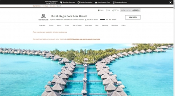 Luxury Resort in French Polynesia | The St. Regis Bora Bora Resort