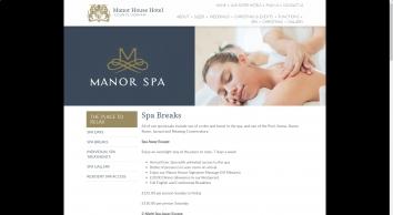 Spa Breaks - Manor House Hotel - STR Hotels