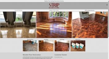 Strip Wooden Flooring: Wooden Floor Restoration, Sanding & Staining