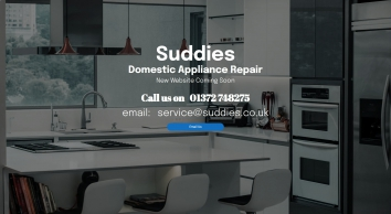 Suddies - Specialists of appliance sales spares and repairs covering South London & Surrey