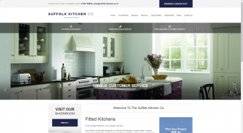 Fitted kitchen design service and installation