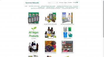 Welcome to Summernaturals - Natural Cleaning - White Vinegar - Bicarbonate of Soda -  Epsom Salt - Soap Making Supplier