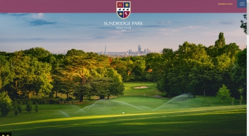 Sundridge Park Golf Course
