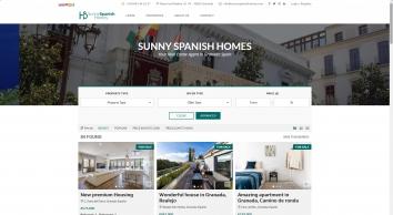 Sunny Spanish Homes, Granada