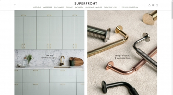 Superfront UK   Fronts, handles, legs, sides and tops for Ikea frames
