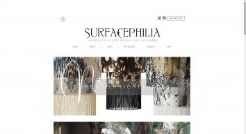 Surfacephilia