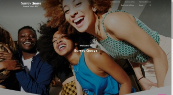 Surrey Quays Shopping in Rotherhithe, London | Shops & Restaurants |