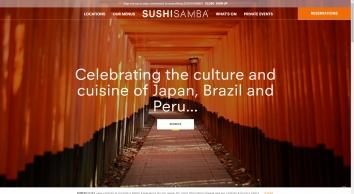 SUSHISAMBA   Peruvian, Brazilian, & Japanese Fine Cuisine