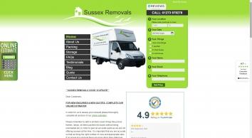 Sussex Removals - Removals Brighton & Sussex | SR