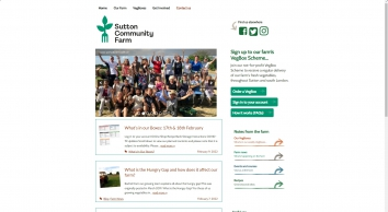 Sutton Community Farm - Local London community farm & VegBox scheme