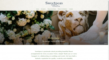 Sweetpeas Of Great Tew creates beautiful bouquets in Oxfordshire