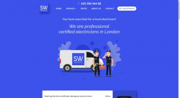 Electrician in London: Electrical services & Free Quote - SW Electricians