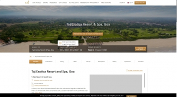Taj Exotica Resort & Spa, Goa - Luxury Beach Resort in South Goa