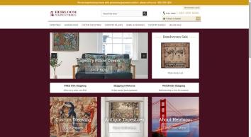 Heirloom Tapestries Tapestry Fabric Wall Hangings Custom Tapestries