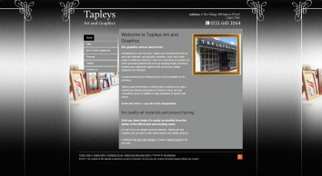 Art materials and art supplies in Wirral by Tapleys