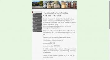 Tavistock Salvage Centre Ltd