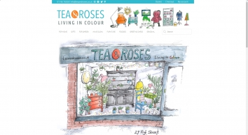 Vintage Style Living | Tea and Roses
