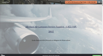 T&T - Allegiant Air Customer Service 800-847-2317 Number, Book Tickets