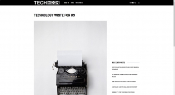 Technology Write For Us - Technology Moon