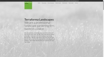 Terraforma Landscapes — professional landscape gardening in London