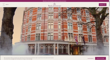 5-Star Luxury in London\'s Chic Mayfair Village - The Connaught