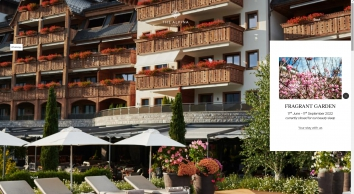 Hotel The Alpina Gstaad in Switzerland - Homepage