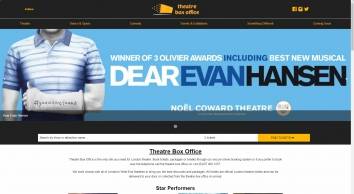 Theatre Box Office - Tickets for Theatre, Events & Attractions