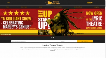 Official London Theatre Tickets   Theatre Box Office