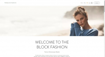 The Block Fashion Home page