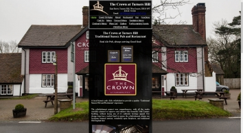 The Crown Turners Hill, Traditional Sussex Pub and Restaurant, Home page