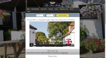 The Five Bells Eastry Kent   Country Inn with Accommodation