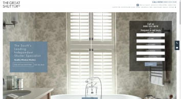 Window Shutters and Blinds from The Great Shutter Co. Winchester, Hampshire | The Great Shutter Co.