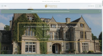 Spa Hotel UK | Luxury Spa Hotel | The Greenway Hotel & Spa Gloucestershire