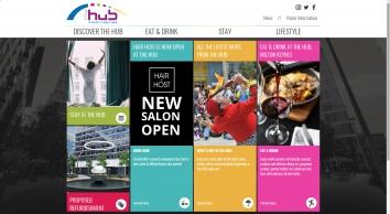 The Hub Milton Keynes homepage