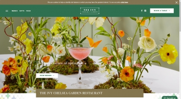All Day Casual Dining Restaurant - The Ivy Chelsea Garden, London